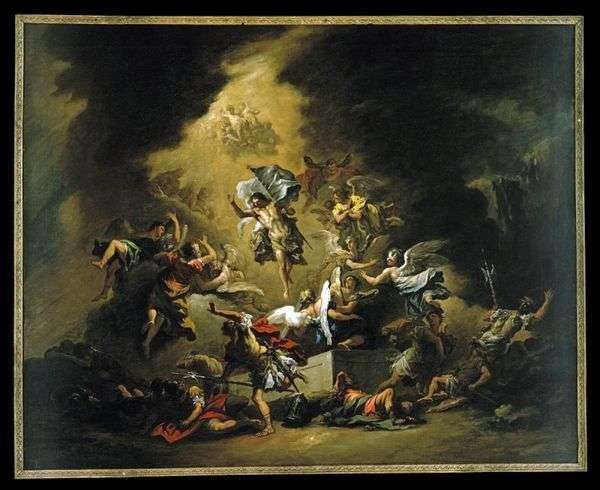 基督与天使一同出现   塞巴斯蒂亚诺里奇