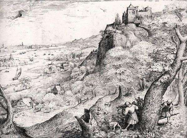 Hare Hunt   Peter Bruegel
