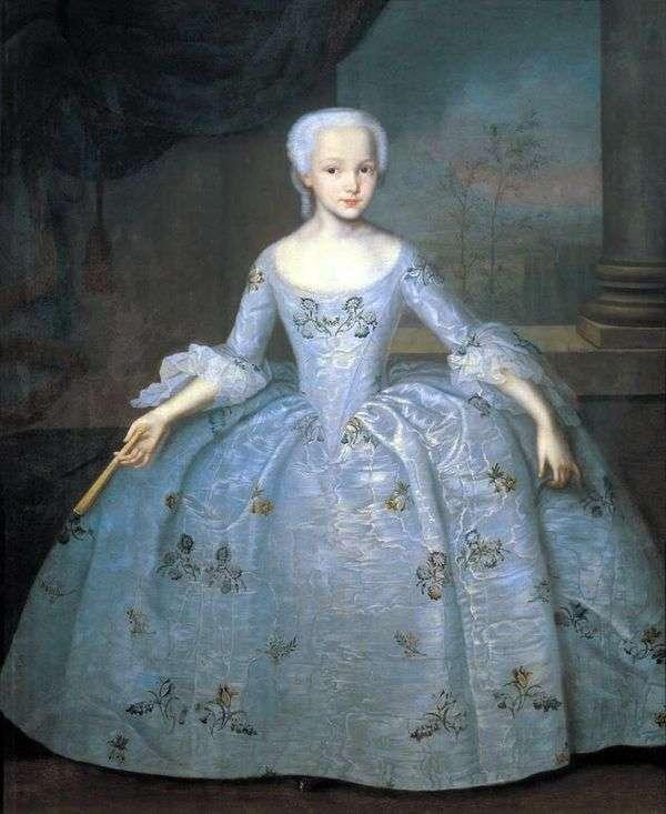 Sarah Eleonora Fermor的肖像   Ivan Vishnyakov