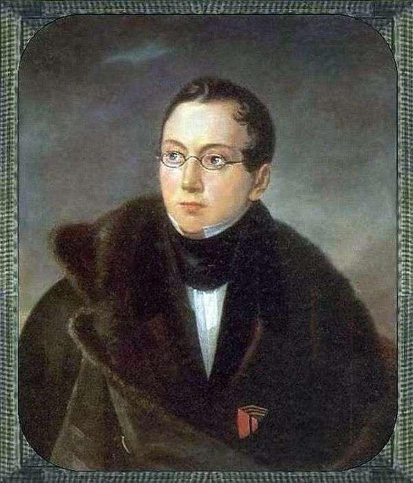 A. V. Vsevolozhsky的画像   瓦西里Tropinin