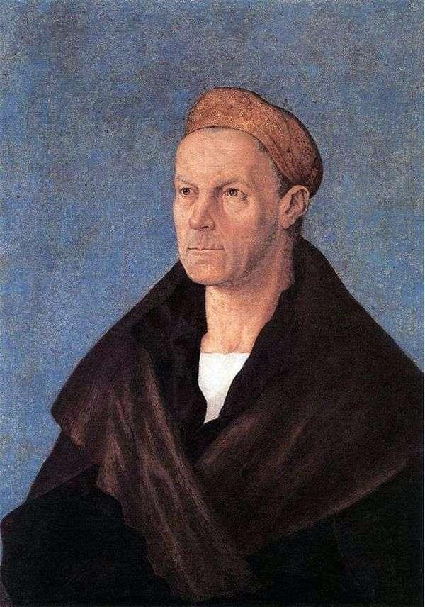 富翁雅各布富格尔的肖像   阿尔布雷希特杜勒