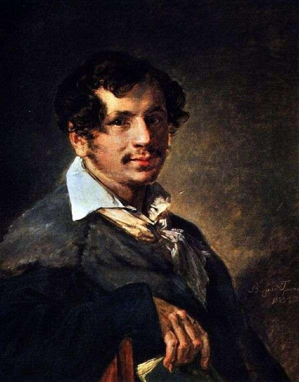 布拉科夫   瓦西里Tropinin的画像