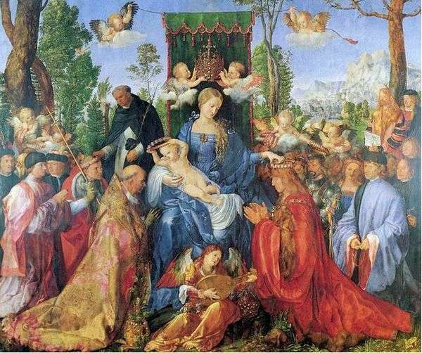 念珠盛宴   AlbrechtDürer