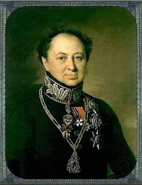 D. P. Tatishchev画像   瓦西里Tropinin