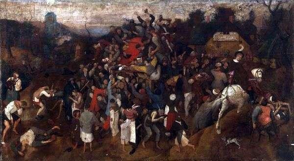 圣马丁节   彼得布鲁盖尔
