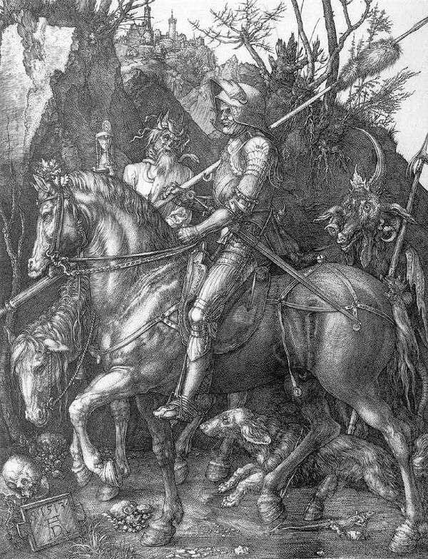 骑士,死亡和魔鬼   阿尔布雷希特 杜勒