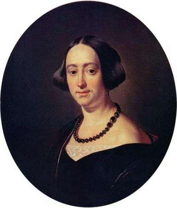 E. V. Mazurina的画像   瓦西里Tropinin