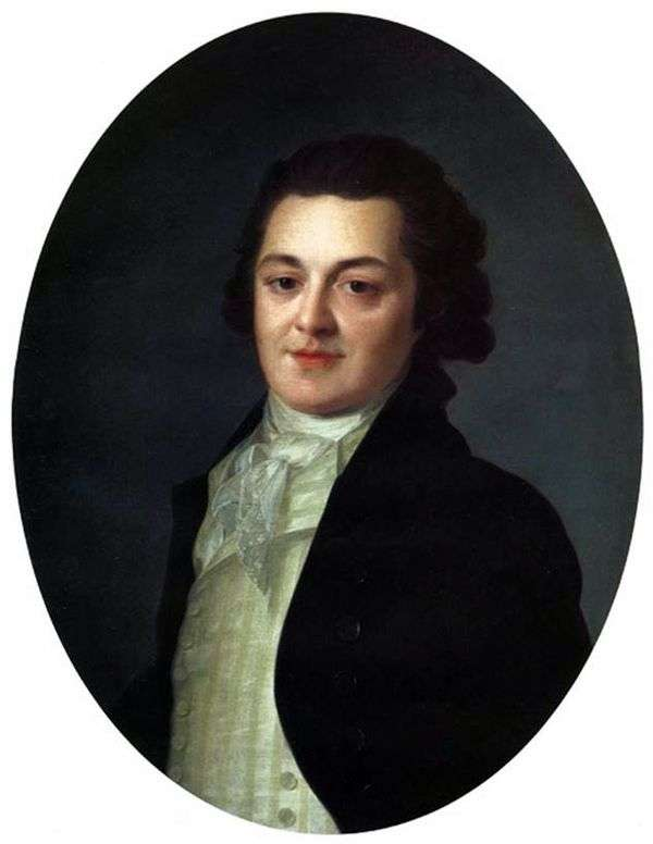 A. Buturlinoy   Fedor Rokotov的肖像