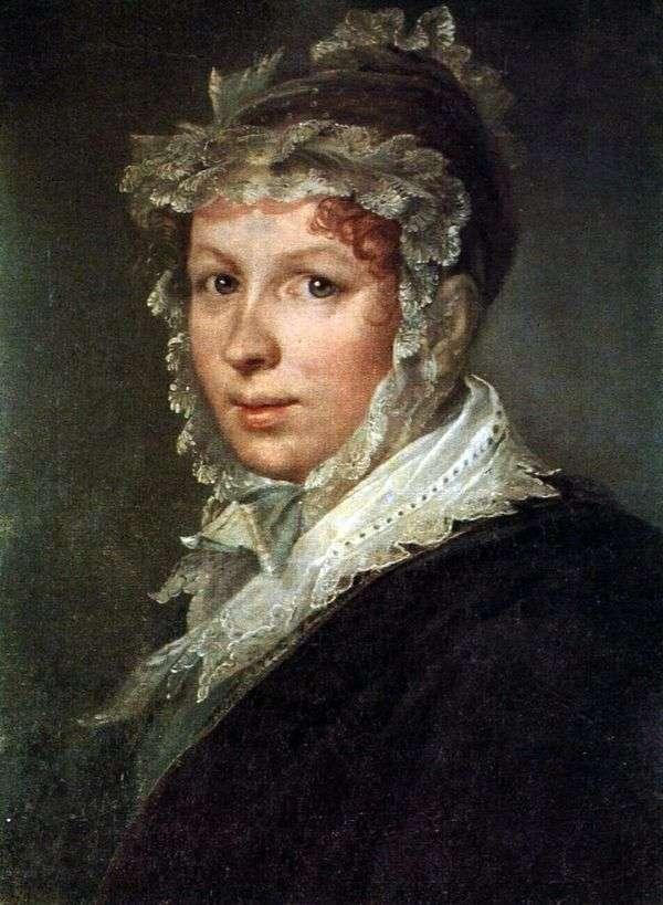 艺术家的妻子   瓦西里Tropinin的肖像