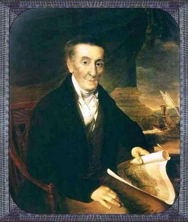 Joachim Lazarevich Lazarev   瓦西里Tropinin的肖像