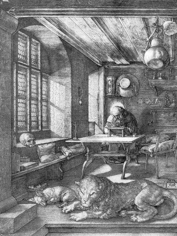圣杰罗姆在细胞   阿尔布雷希特Durer
