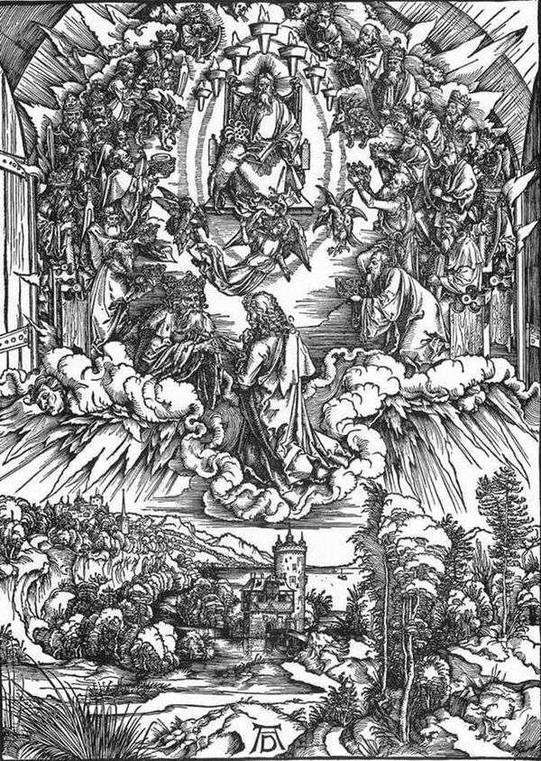 圣约翰和二十四长老   阿尔布雷希特杜勒
