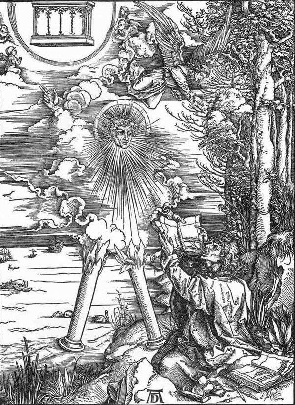 圣约翰接受启示录   阿尔布雷希特 杜勒