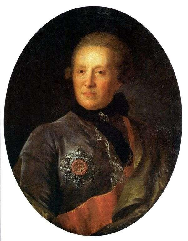 A. P. Sumarokov的肖像   Fedor Rokotov