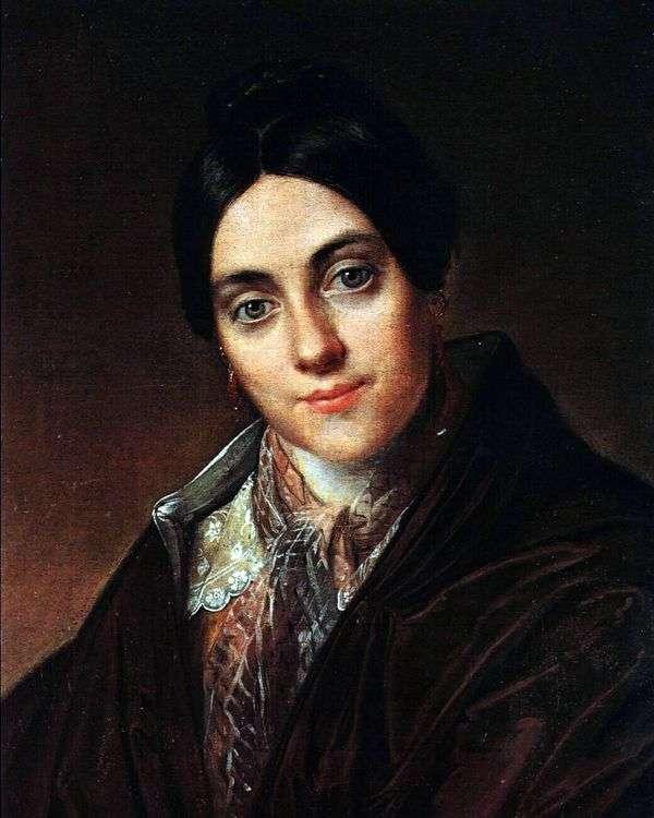 L. K. Makovskaya   Vasily Tropinin的肖像