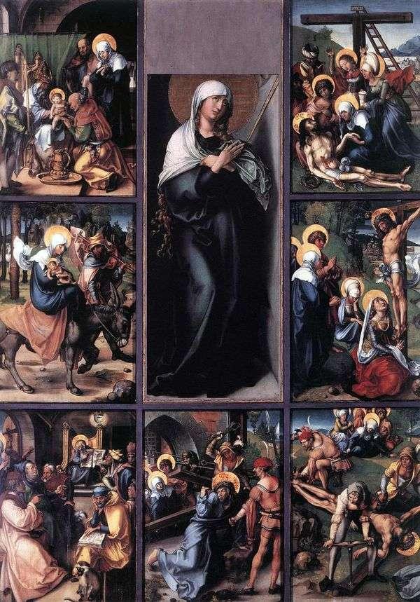 玛丽的七种激情   阿尔布雷希特杜勒
