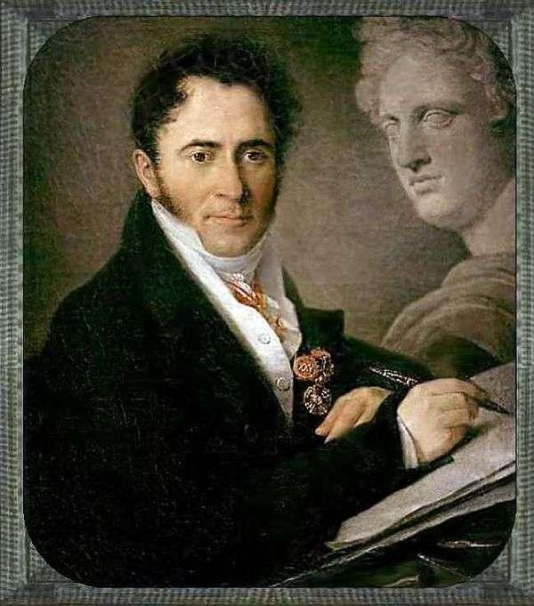 N. I. Utkin   Vasily Tropinin的肖像