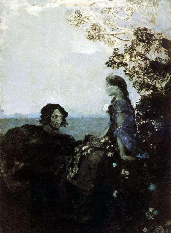 哈姆雷特和奥菲莉亚   米哈伊尔弗鲁贝尔