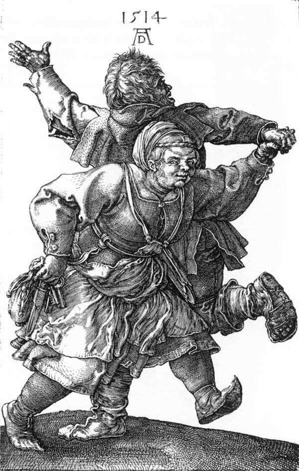 跳舞农民   Albrecht Durer