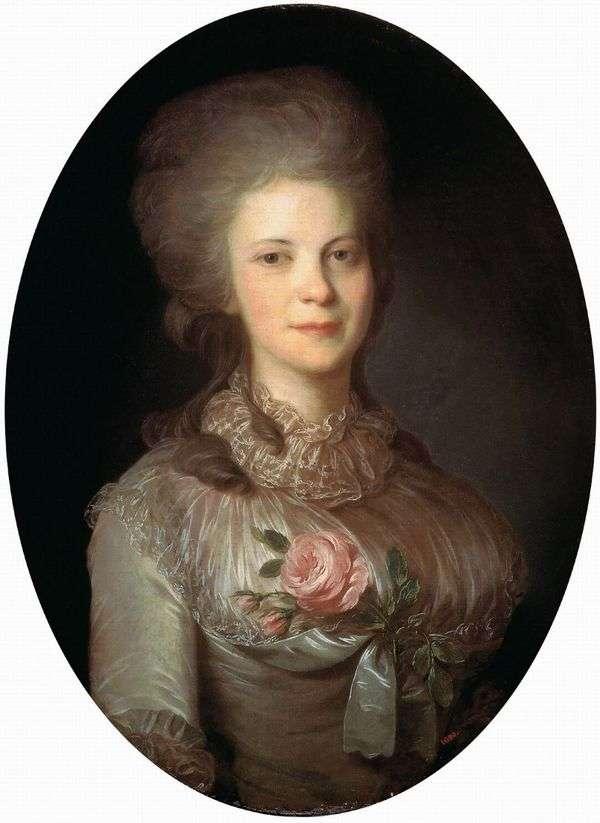 Varvara Nikolaevna Surovtseva   Fedor Rokotov画象