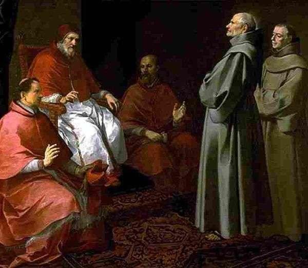 Gregory IX之前祝福Gilles   Bartolomeo Esteban Murillo