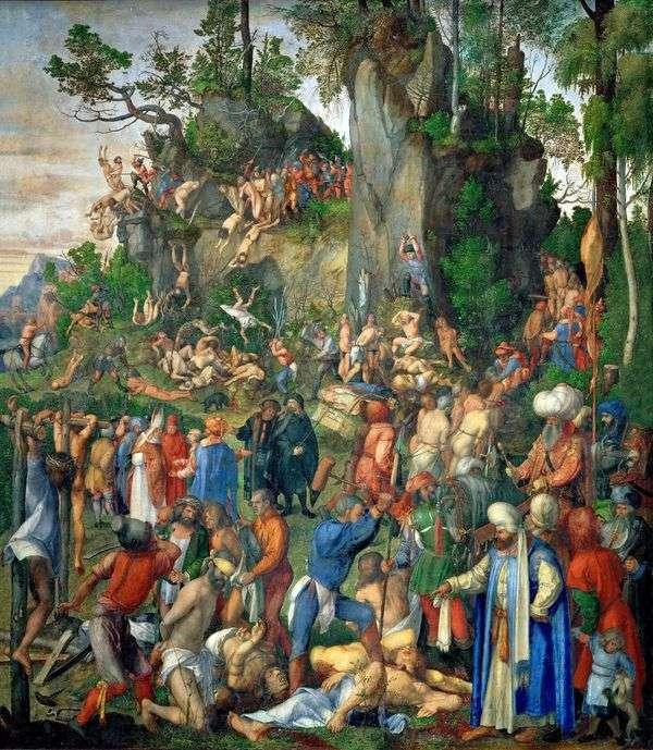 杀害一万基督徒   阿尔布雷希特杜勒
