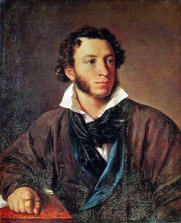 普希金的肖像   瓦西里Tropinin