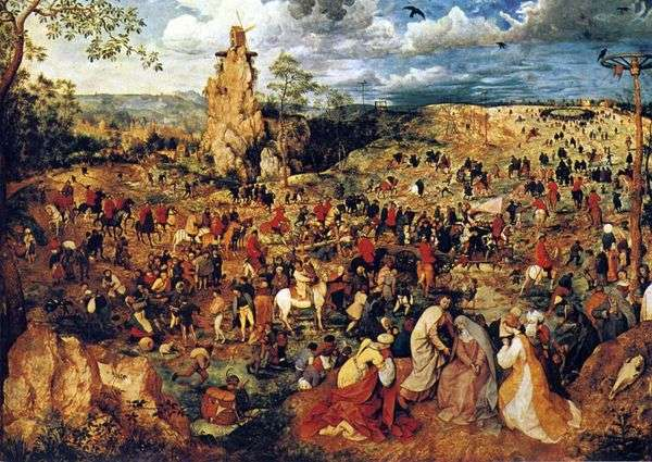 Calvary游行   Peter Bruegel
