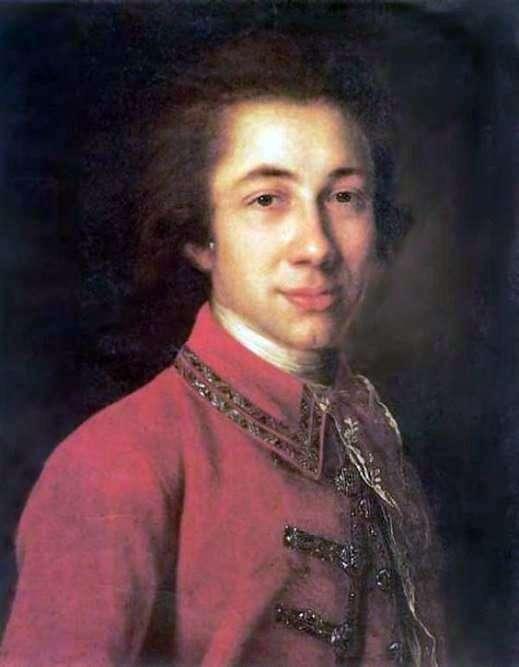 I. B. Kurakin的肖像   Fedor Rokotov