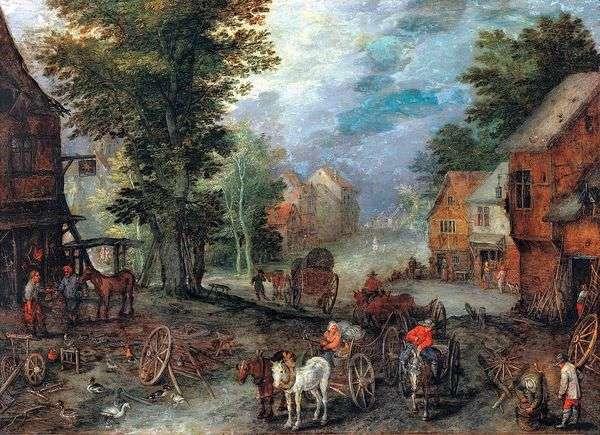风景   Jan Bruegel