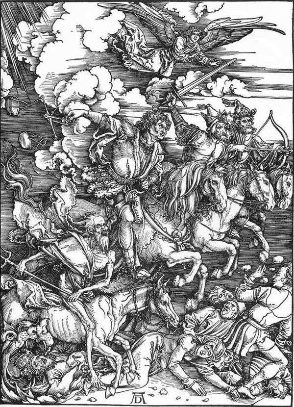 天启的四骑士   阿尔布雷希特杜勒