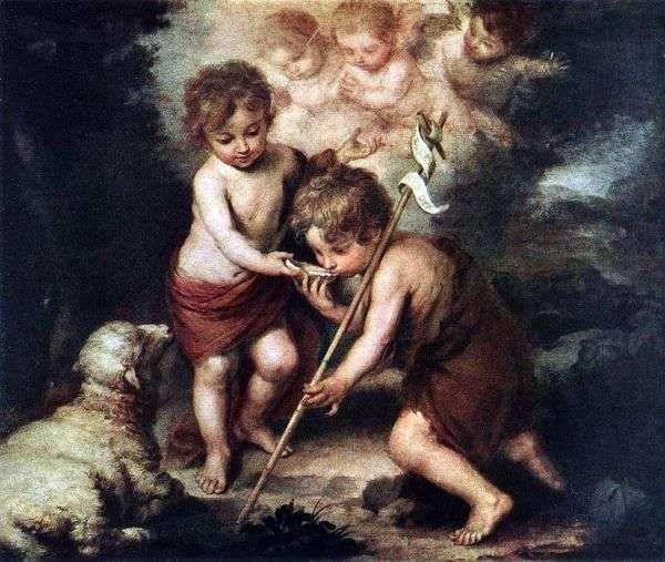 有羔羊的孩子   Bartolomeo Esteban Murillo