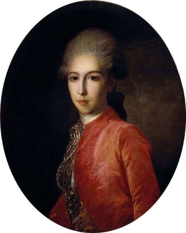 Prince I. Baryatinsky的肖像   费奥多尔 罗科托夫