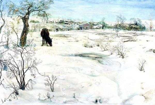 冬天   艾萨克布罗德斯基