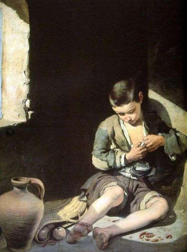 Little Beggar   Bartolome Esteban Murillo