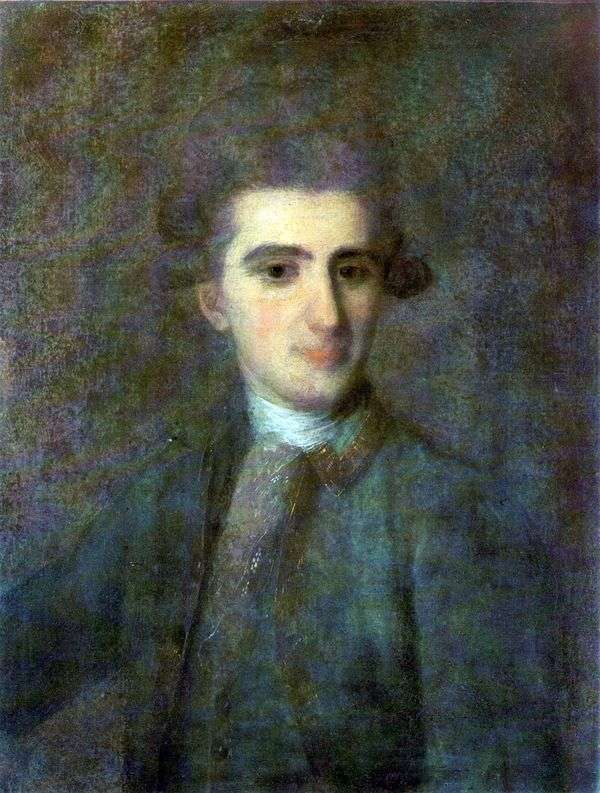 尼古拉Struysky的画象   Fedor Rokotov