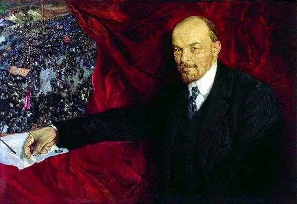 列宁和表现   艾萨克布罗德斯基