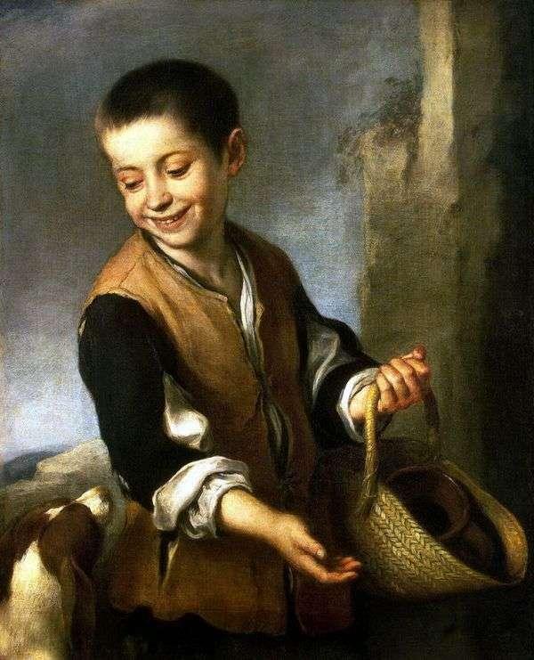 有狗的男孩   Bartolome Esteban Murillo