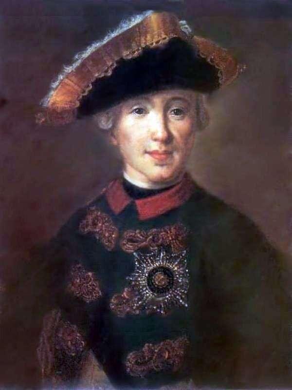 彼得 费奥多罗维奇的肖像,在彼得三世的未来   费多尔 罗科托夫
