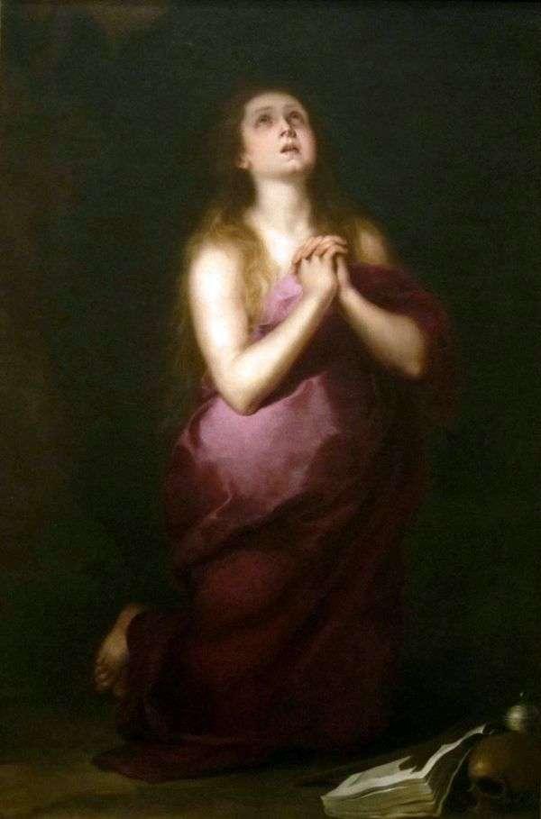 Mary Magdalene   Bartolome Esteban Murillo