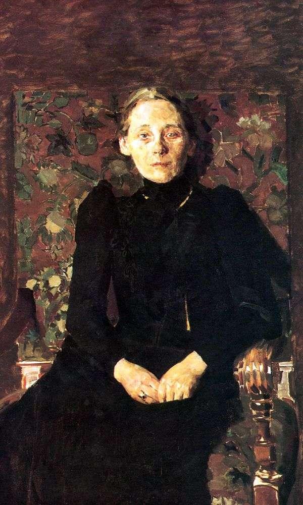M. I. Artsybusheva   米哈伊尔Vrubel的肖像