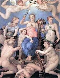 幸福的寓言   Agnolo Bronzino