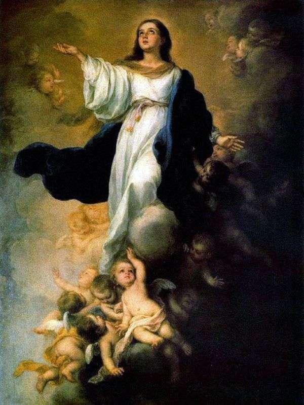 圣母玛利亚的假设   Bartolome Esteban Murillo