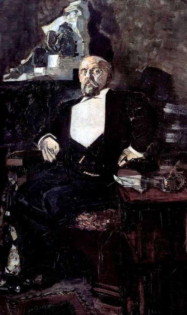 Savva Mamontov   米哈伊尔Vrubel画像