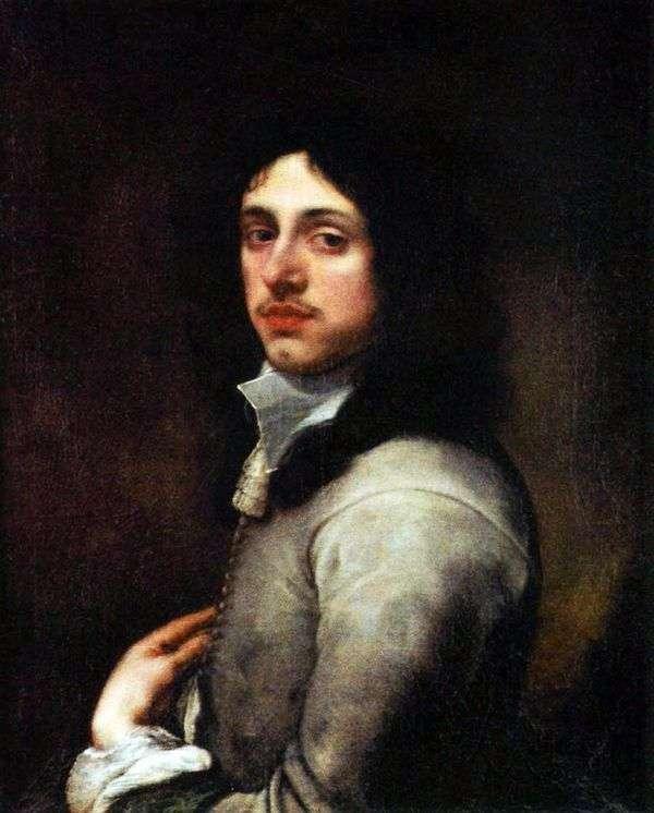 一个年轻人的画象灰色的   Bartolome Esteban Murillo
