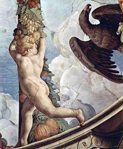 加兰与天使(壁画)   Agnolo Bronzino