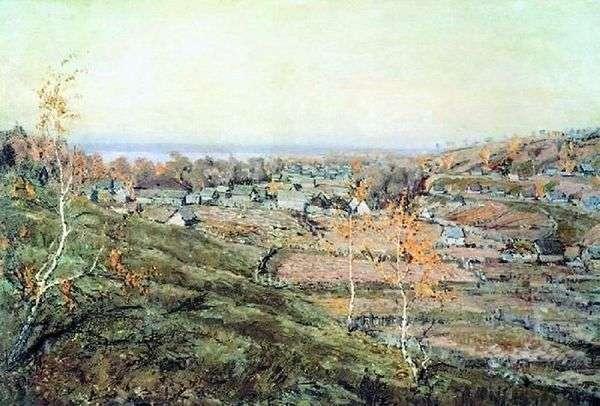 村庄Khmelevka   尼古拉罗马丁