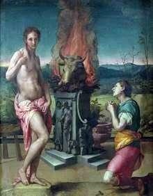Pygmalion和Galatea   Agnolo Bronzino