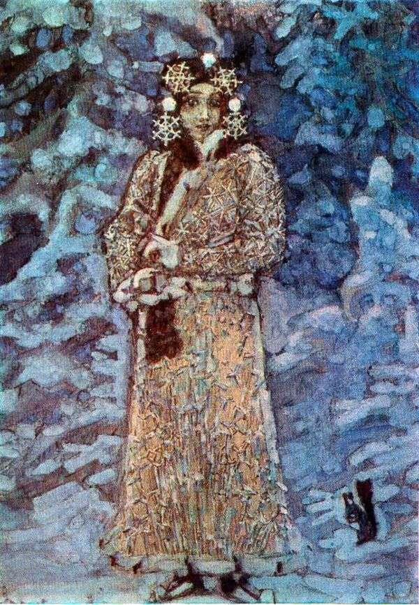 雪少女   米哈伊尔Vrubel