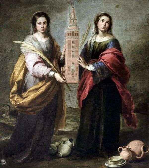 圣贾斯汀和圣鲁菲娜   巴托洛梅奥埃斯特万穆里略